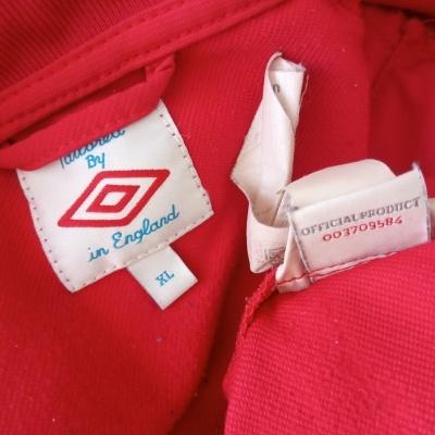 "England Training Drill Top Jacket 2012 (XL) ""Good"""
