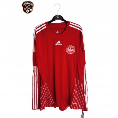 NEW Denmark Long Sleeve Home Shirt Player Issue 2008 (XL)