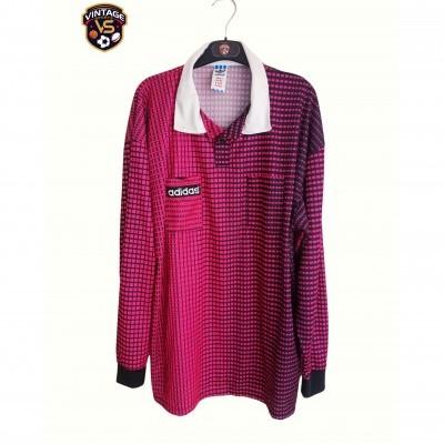 "Vintage Adidas Referees Shirt Pink (XL) ""Perfect"""