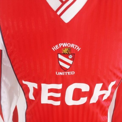 "MATCHWORN Hepworth United FC Home Shirt (XL) ""Good Condition"""