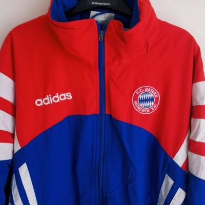 """Bayern Munich München Stadium Jacket 1995 (M) """"Very Good"""""""