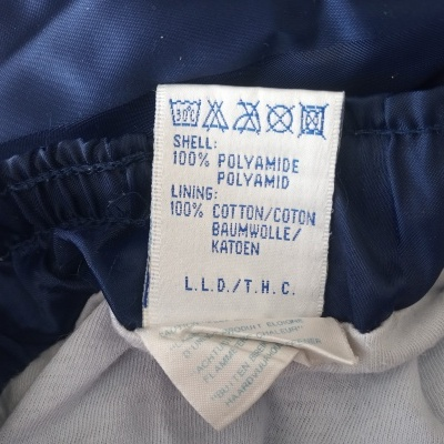 "Vintage Shorts Rucanor 1990s Blue (L) ""Very Good"""