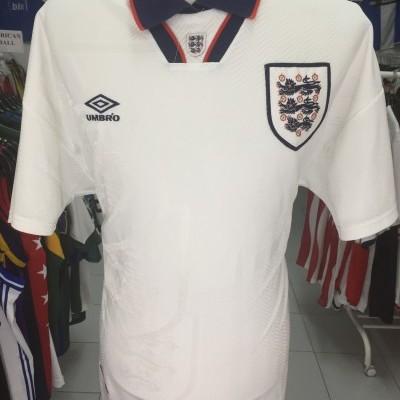 England 1993-95 Home Shirt (XL) Umbro