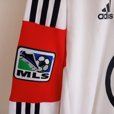 """DC United Away Shirt L/S Player Issue 2012 (XL) """"Very Good"""""""