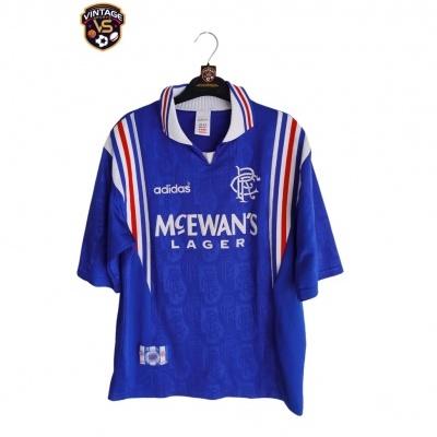 "Glasgow Rangers FC Home Shirt 1996-1997 (M) ""Very Good"""