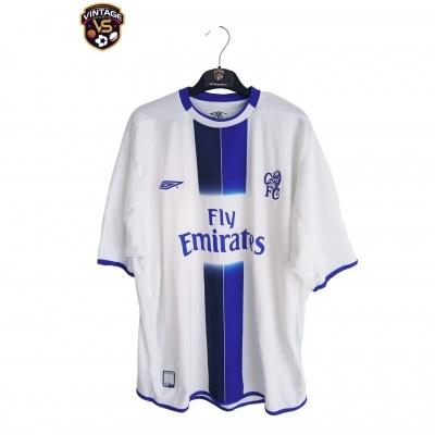 """Chelsea FC Away Shirt 2003-2005 (XL) """"Good"""""""