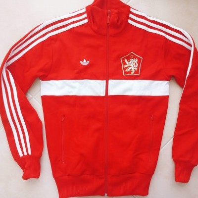 "Retro Czech Republic Track Top Jacket (XS) ""Very Good"""