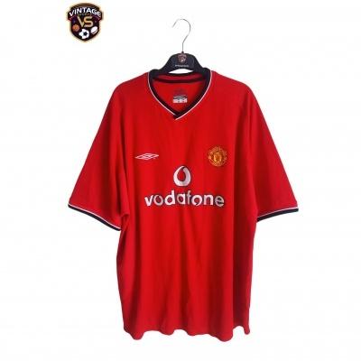 "Manchester United Home Shirt 2000-2002 (XL) ""Very Good"""