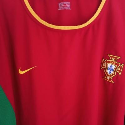 "Portugal Home Shirt 2002-2004 (XL) ""Very Good"""