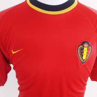 "Belgium Home Shirt 2000 (M) ""Very Good"""