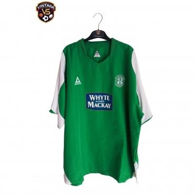 "Hibernian Edinburgh Home Shirt 2004-2005 (3XL) ""Good"""