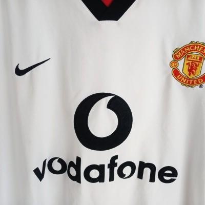 "Manchester United Away Shirt 2002-2003 (XL) ""Good Condition"""