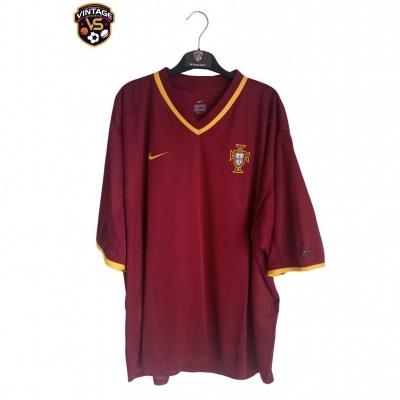 """Portugal Home Shirt 2000-2002 #21 Nuno Gomes (XXL) """"Very Good"""""""