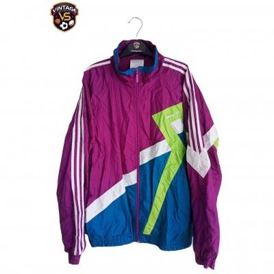 """Vintage Track Top Jacket Adidas Purple (L) """"Very Good"""""""