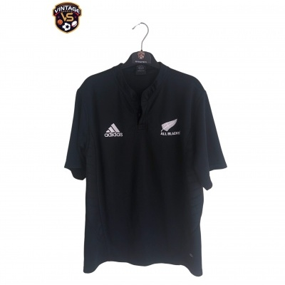 "New Zealand All Blacks Rugby Home Shirt (M) ""Very Good"""