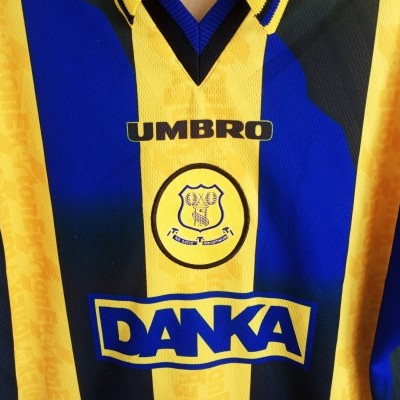 "Everton FC Away Shirt 1996-1998 (L) ""Very Good"""
