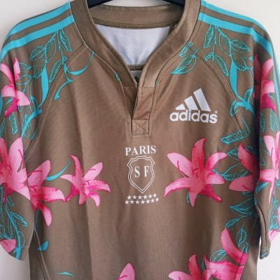 "Stade Français Paris SF Rugby Home Shirt 2007 (S) ""Very Good"""