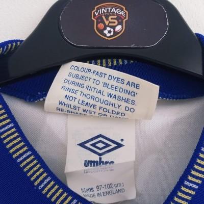 "Leeds United FC Home Shirt 1990-1991 (M) ""Very Good"""