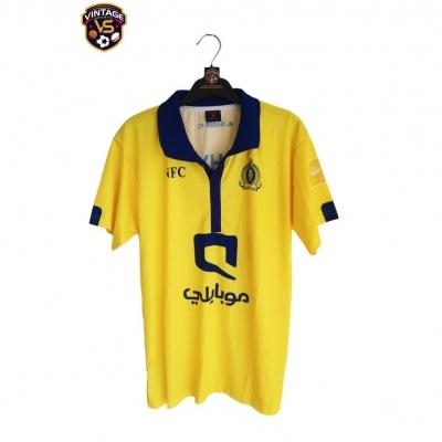 """Al Nassr FC Home Shirt 2014-2015 #8 (M) """"Perfect"""""""