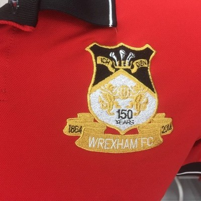 150 Years Wrexham FC Polo Shirt 2014 (Kids) Wales
