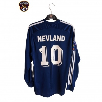 """Viking Stavanger FK L/S Home Shirt 2003 #10 Nevland (S) """"Good"""""""