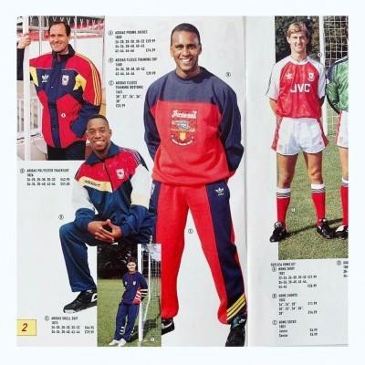 NEW Arsenal FC Crewneck Sweatshirt Adidas Originals (S)