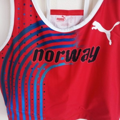 "Norway Team Olympics Athletics Top Crop Womens Puma ""Perfect"""