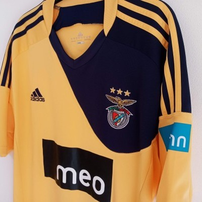 """SL Benfica Away Shirt 2010-2011 (L) """"Very Good"""""""
