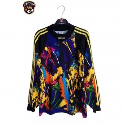 "Vintage Goalkeeper Shirt Adidas 1990's (M) ""Very Good"""