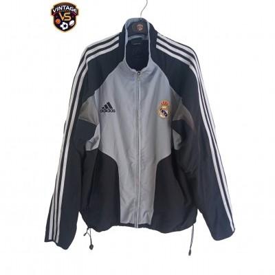 "Real Madrid Track Top Jacket 2004 (L) ""Good"""