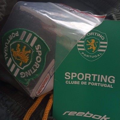 NEW Sporting CP Football Shorts 2002-2003 (S)