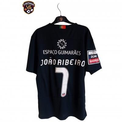 "Matchworn Vitoria Guimarães Away Shirt 2012 #7 Joao Ribeiro (M) ""Perfect"""