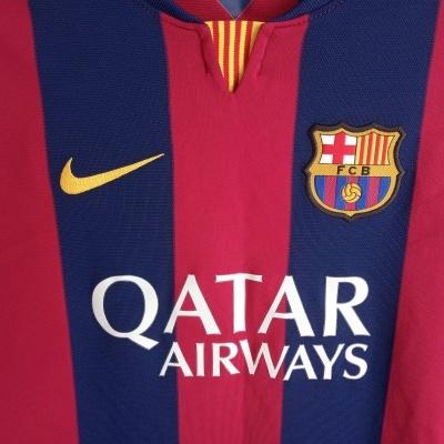 "FC Barcelona Home Shirt 2014-2015 #10 Messi (XL Youths) ""Good"""