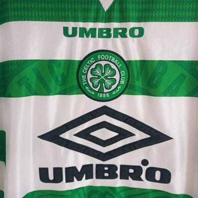 "Celtic Glasgow FC Home Shirt 1997-1999 (XL) ""Good"""