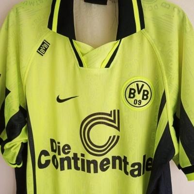 "BVB Borussia Dortmund Home Shirt 1996-1997 (XL) ""Very Good"""