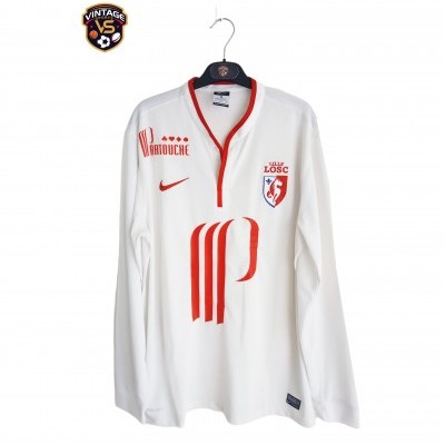 "LOSC Lille Away Long Sleeve Shirt 2013-2014 (L) ""Very Good"""