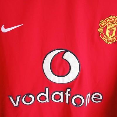 "Manchester United Home Shirt 2002-2003 (XL) ""Very Good"""