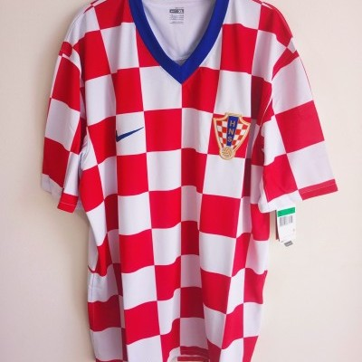 NEW Croatia Home Shirt 2008-2009 (XL)