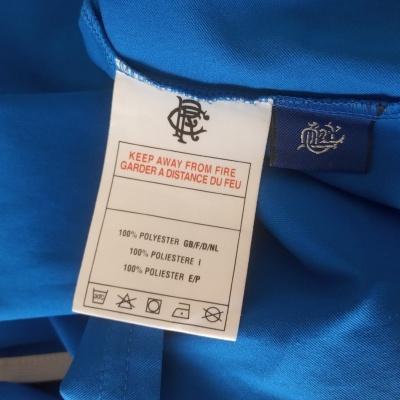 "Glasgow Rangers FC Home Shirt 2003-2005 (XL) ""Very Good"""