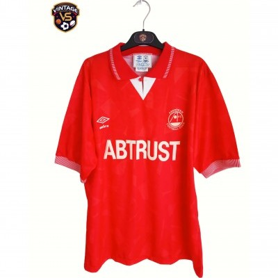 """Aberdeen FC Home Shirt 1990-1992 (XL) """"Very Good"""""""