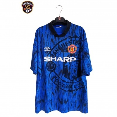 "Manchester United Away Shirt 1992-1993 (XL) ""Very Good"""