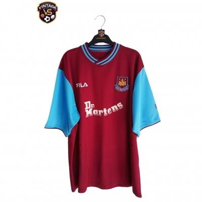 "West Ham United Home Shirt 2001-2003 (XL) ""Very Good"""