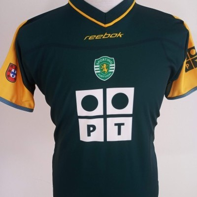 NEW Sporting CP Away Shirt 2002-2003 Ronaldo Era (Youths)