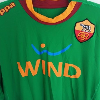 "AS Roma Goalkeeper Shirt 2011-2012 (XXL) ""Perfect"""