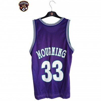 """Charlotte Hornets NBA Jersey #33 Mourning (S) """"Good"""""""