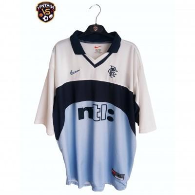 "Glasgow Rangers FC Away Shirt 1999-2000 (XL) ""Good"""