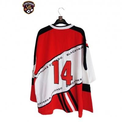 "Chicago Blackhawks Ice Hockey Jersey NHL 1990s #14 (M) ""Very Good"""