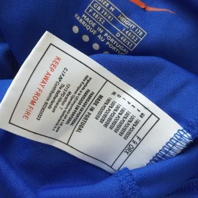 "Glasgow Rangers FC Home Shirt 1999-2001 (M) ""Very Good"""