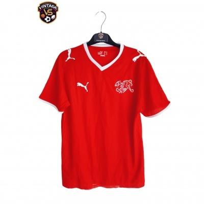 """Switzerland Home Shirt 2008-2010 (S) """"Perfect"""""""