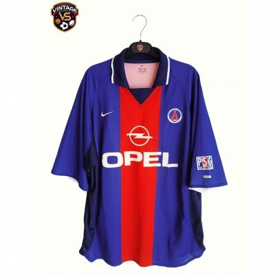 "Paris SG PSG Home Shirt 2000-2001 (XL) ""Very Good"""